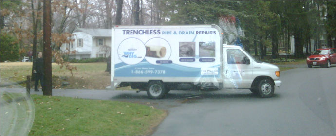 trenchless pipe and drain repairs