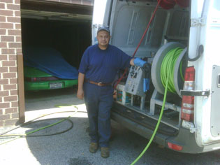 Sewage drain clogged cleaning NYC